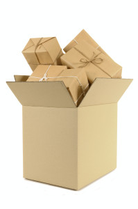 Packaging for shipment boxes of all sizes